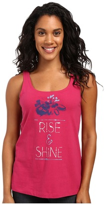 Life is good Rise & Shine Floral Simple Sleep Tank $22 thestylecure.com