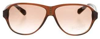 Balmain Gradient Logo Sunglasses