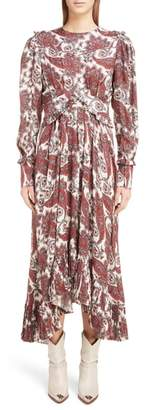 Isabel Marant Jorja Silk Blend Dress
