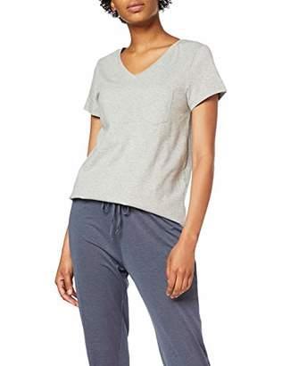 Skiny Women's Sleep & Dream Shirt Kurzarm Pyjama Top,(Size: 42)