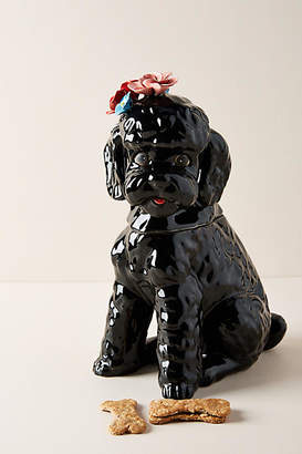 Sit Stay Love Dapper Dog Cookie Jar