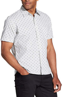Van Heusen Never Tuck Short-Sleeve Button-Down Shirt