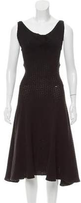 Derek Lam Crochet Sleeveless Dress