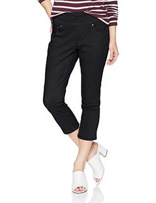 Jag Jeans Women's Petite Peri Straight Pull on Crop