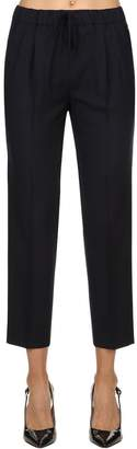 Max Mara Wool Jogging-Style Pants