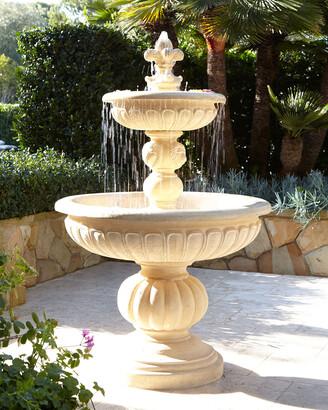 Lionhead Stonecast Fountain