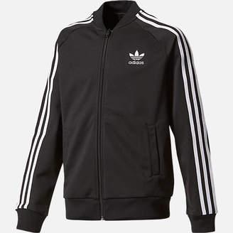 adidas Boys' Superstar Track Jacket