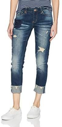 UNIONBAY Women's Saylor Vintage Peg Skinny Jean