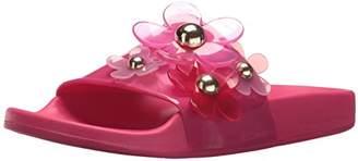 Marc Jacobs Women's Daisy Aqua Slide Sandal