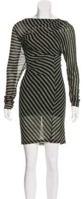 Elizabeth and James Striped Knee-Length Dress
