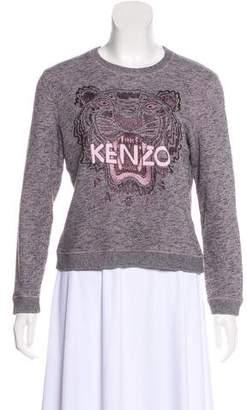 Kenzo Crew Neck Logo Sweatshirt