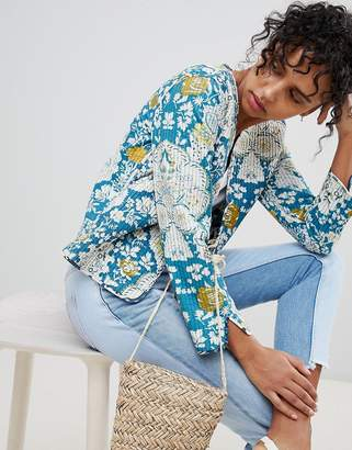 Pepe Jeans Lala Floral Patchwork Jacket