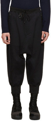 Y-3 Black Future Sport Pants $420 thestylecure.com
