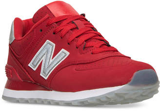 New Balance Men's 574 Reptile Casual Sneakers from Finish Line