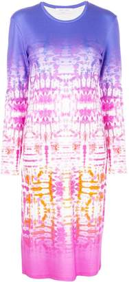 Prabal Gurung ombre tie-dye dress
