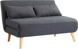 Webster Temple & Charcoal Aero Fabric Sofa Bed