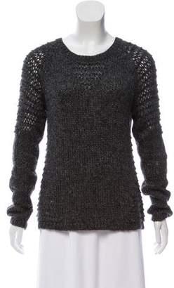 The Kooples Sport Wool-Blend Crew Neck Sweater