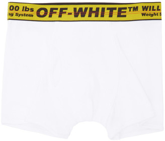 Off-White White Industrial Tape Boxer Briefs