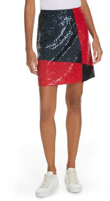 Polo Ralph Lauren Colorblock Sequin Skirt