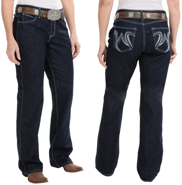 Wrangler Q-Baby Ultimate Riding Jeans - Cowgirl Cut (For Women)