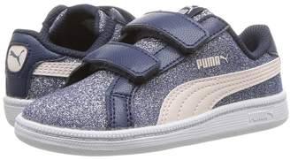 Smash Wear Puma Kids Glitz Glamm V Girls Shoes