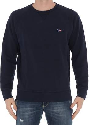 MAISON KITSUNÉ Tricolor Fox Sweatshirt