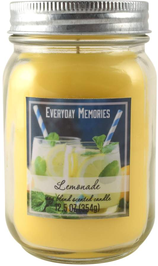 Everyday Memories Lemonade 12.5-oz. Candle Jar