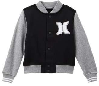 Hurley Icon Varsity Jacket (Toddler Boys)