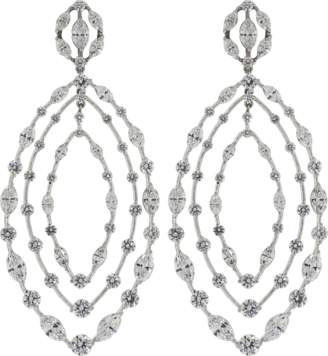 Kwiat Starry Night Collection Diamond Earrings