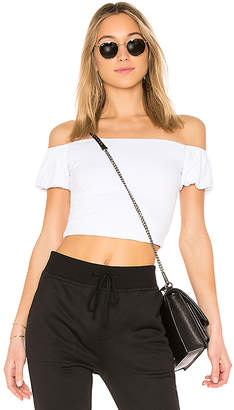 by the way. Quinn Off Shoulder Crop Top