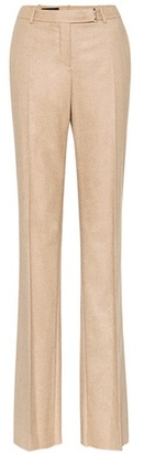 Lawrence cashmere and silk trousers