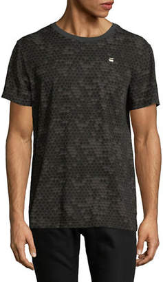 G Star Printed Short-Sleeve Cotton Tee