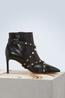 Valentino Studs wrap boots