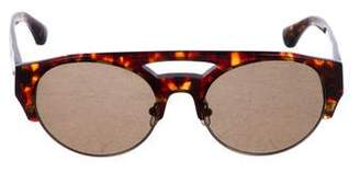 Dries Van Noten Tinted Tortoiseshell Sunglasses
