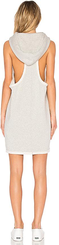 Hudson Jeans Hoodie Sweatshirt Dress 2