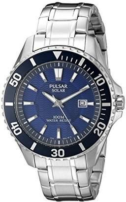 Pulsar Men's PX3067 Solar Dress Analog Display Japanese Quartz Watch
