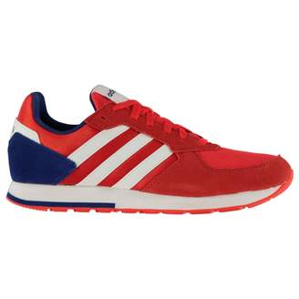 adidas Mens 8K Trainers Runners Lace Up Mesh Upper Suede Stripe