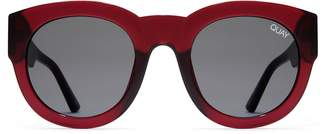Quay IF ONLY Women's Sunglasses Round Sunnies