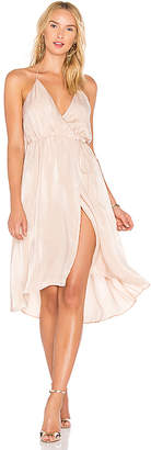 Lovers + Friends X REVOLVE Aaren Dress in Blush $178 thestylecure.com