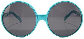 *MKL Accessories The Mega Apfel Sunglasses in Turquoise