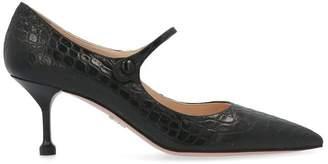 Prada Mary Jane Ankle Strap Pumps