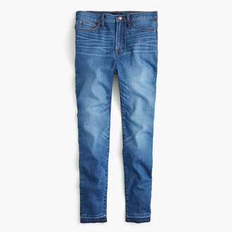 "J.Crew 10"" Higher-Rise Toothpick Eco Jean With Let-Down Hem"