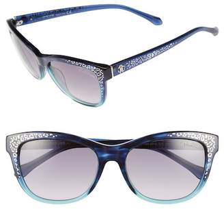 Roberto Cavalli Women's 55mm Tsze Square Acetate Frame Sunglasses