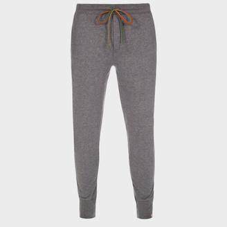 Men's Grey Jersey Cotton Lounge Pants $100 thestylecure.com