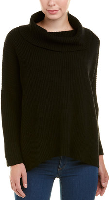Autumn Cashmere Oversized Cowl Wool & Cashmere-Blend Sweater