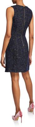 Julie Brown Jaelyn Fit-and-Flare Tweed Dress