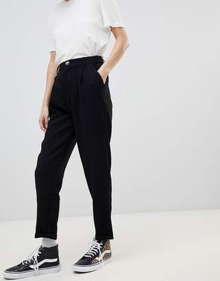 Pull&Bear button top with turnup