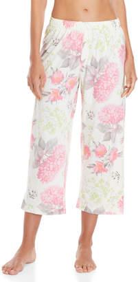 Hue Hydrangea Capri Pajama Pants