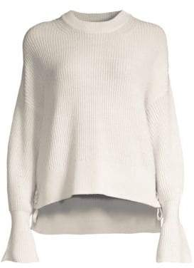 The Kooples Bell-Sleeve Wool Sweater