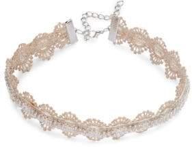 Noir Beaded Choker Necklace